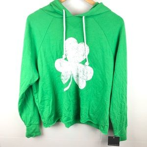Grayson Thread st Patricks day sweater crop top XL